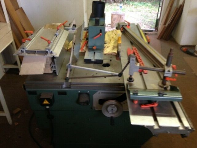 What are the advantages of making used woodwork machinery?
